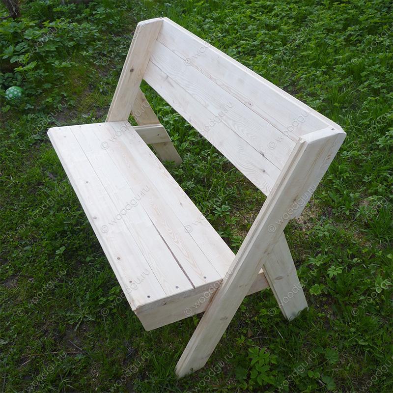 Изготовление своими руками скамейки 233